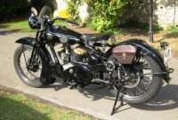 Thomas Welzel's 1933 JAP 80with detachable heads