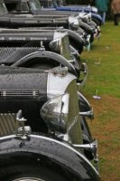 Line up of S car radiators