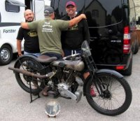 jarolslav Kovar's 1925 SS100 from The Czech Repuiblic with Team Brough
